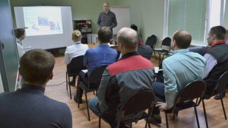 Тренинг Акзо Нобель в Техническом Центре «ВОЛИН»