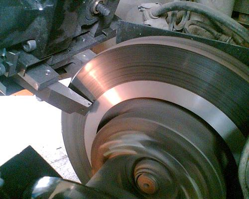 Проточка дисков в Техническом Центре «ВОЛИН»
