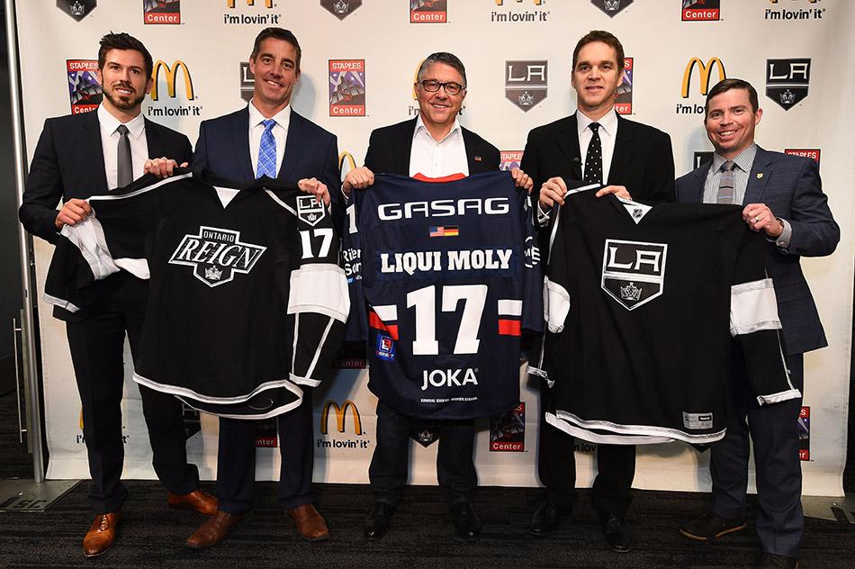 Март 2017 года – немецкая компания LIQUI MOLY и Los Angeles Kings договорились о партнерстве на ближайшие три сезона