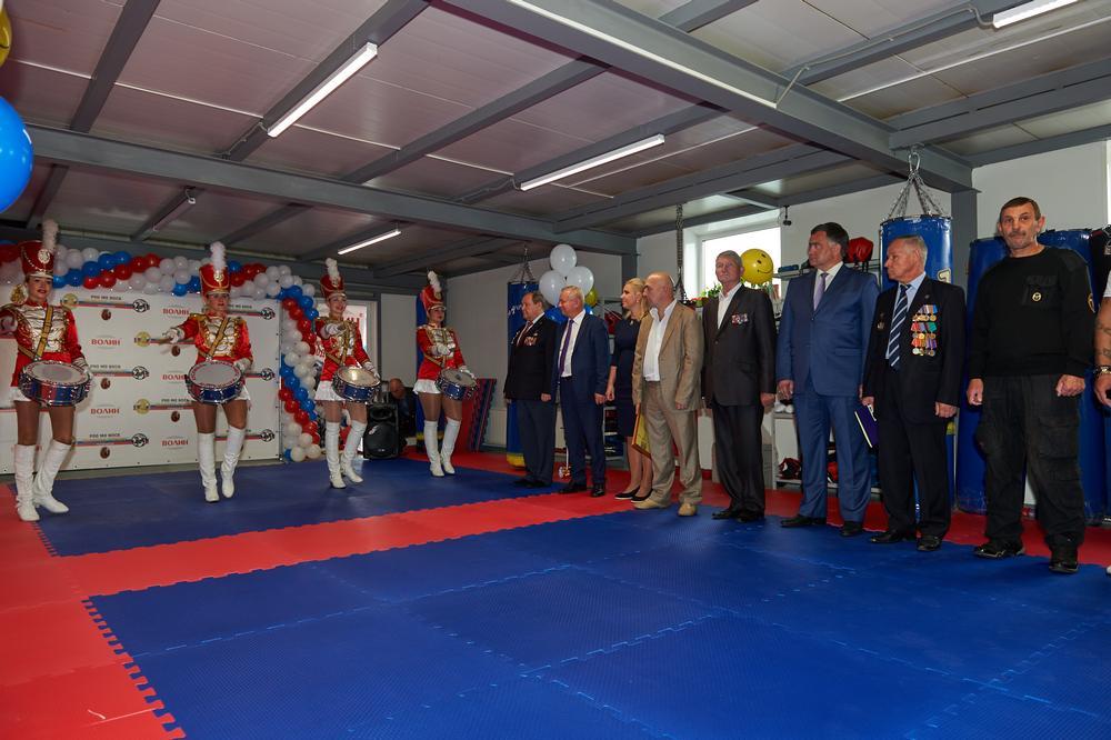 Открытие нового зала спортивного клуба в ТЦ «ВОЛИН»