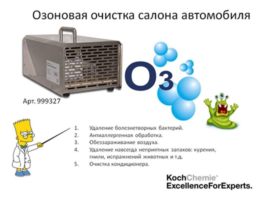 Озонирование салона автомобиля в Техническом Центре «ВОЛИН»