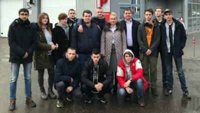 Мастер класс для студентов в Техническом Центре «ВОЛИН»