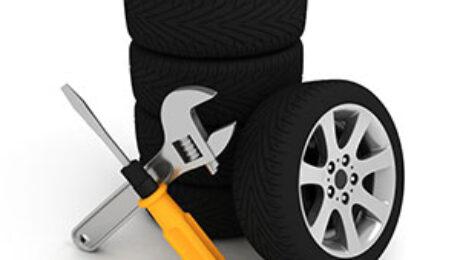 ТЦ «ВОЛИН». Шиномонтаж больших колес без повреждений