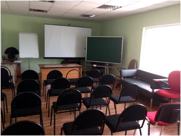 Класс для проведения тренингов и семинаров в Техническом Центре «ВОЛИН»