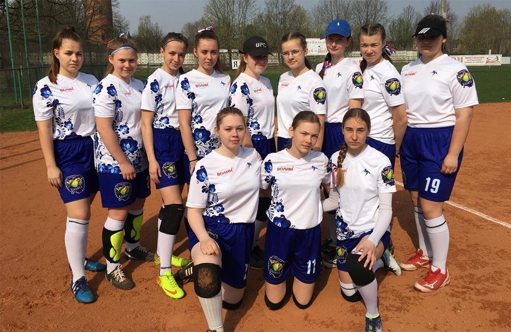Софтбольная команда «Калита» выиграла первенство России по софтболу среди девушек 11-16 лет