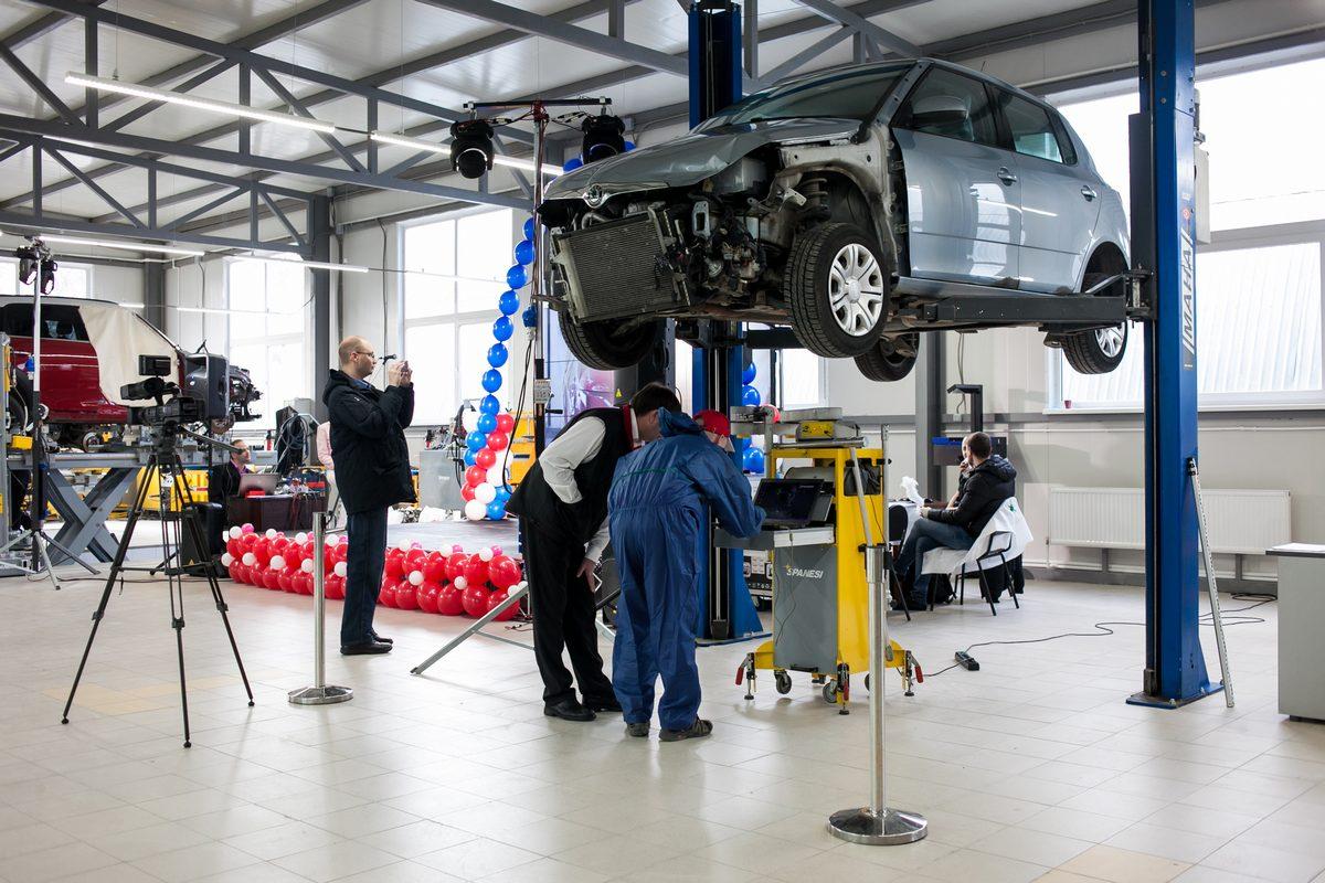 Праздник, посвящённый открытию нового кузовного цеха в Техническом Центре «ВОЛИН»