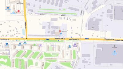 Контакты Технического Центра «ВОЛИН». Схема проезда