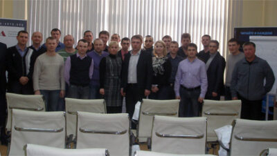В ТЦ «ВОЛИН» проведён семинар на тему «Малярно-кузовной цех. Тонкая настройка»