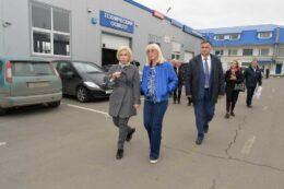 Депутат Госдумы от партии «Единая Россия» Оксана Пушкина посетила технический центр «ВОЛИН»