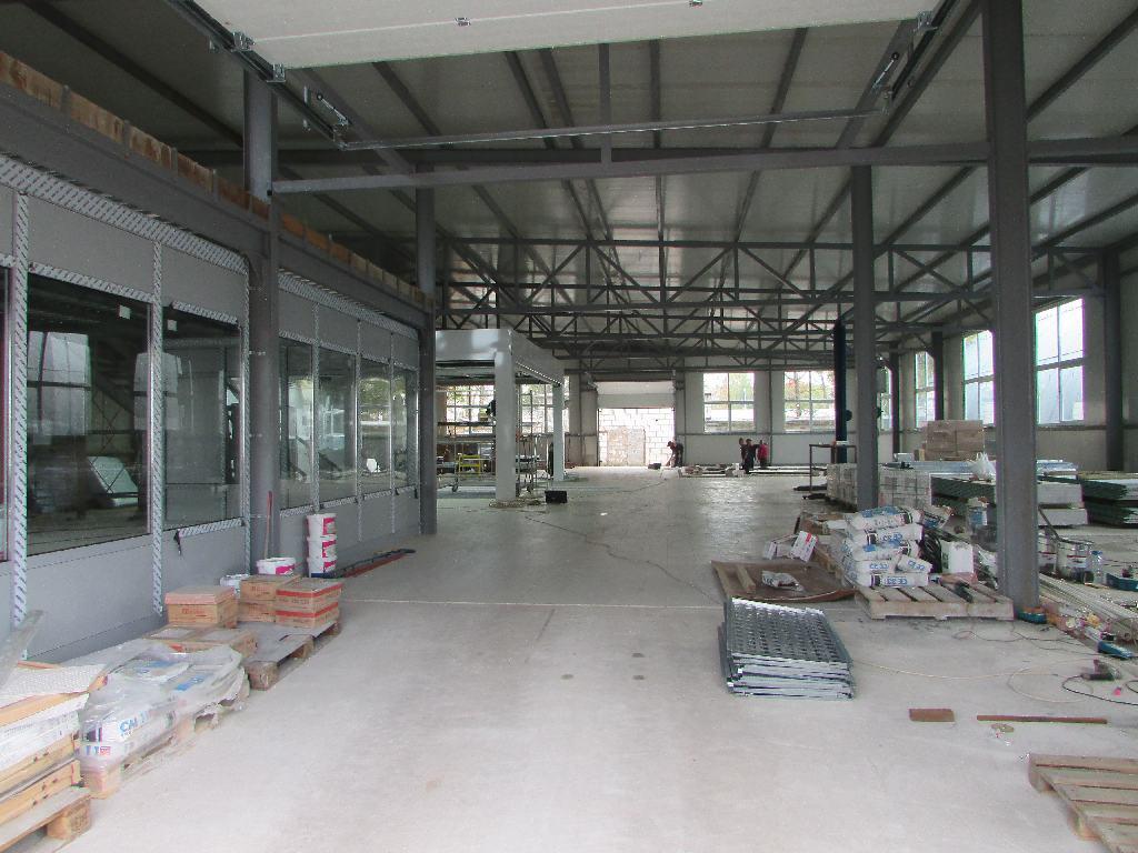 В Техническом Центре «ВОЛИН» началось строительство нового корпуса кузовного цеха