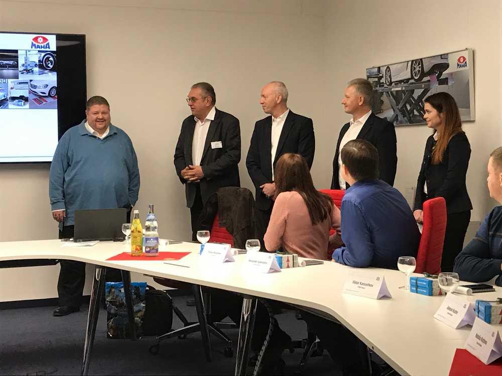 Руководство ТЦ «ВОЛИН» посетило завод MAHA в Германии