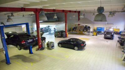 Технический центр «ВОЛИН». Кузовной цех