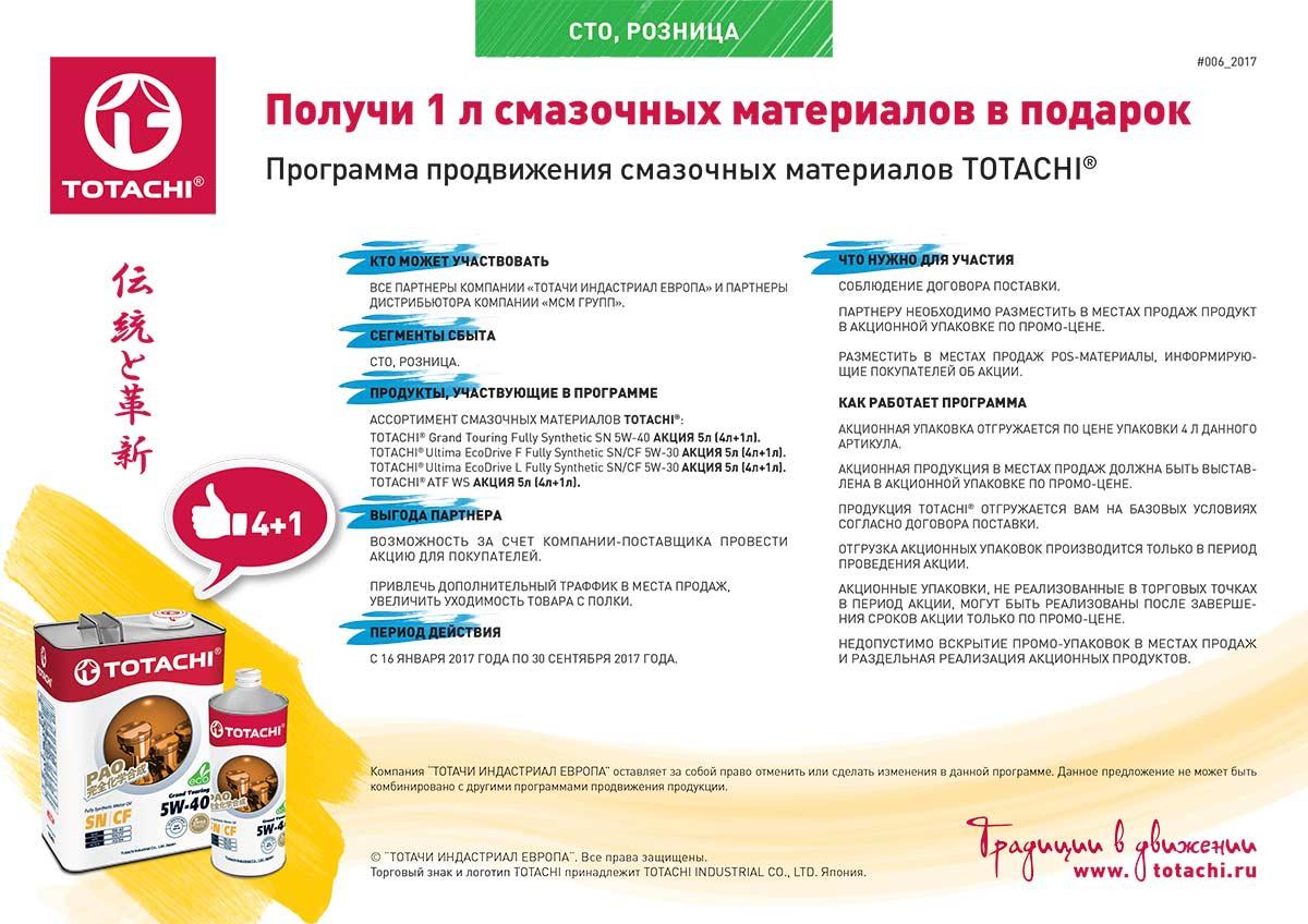 Технический Центр «ВОЛИН» - официальный партнёр TOTACHI в России