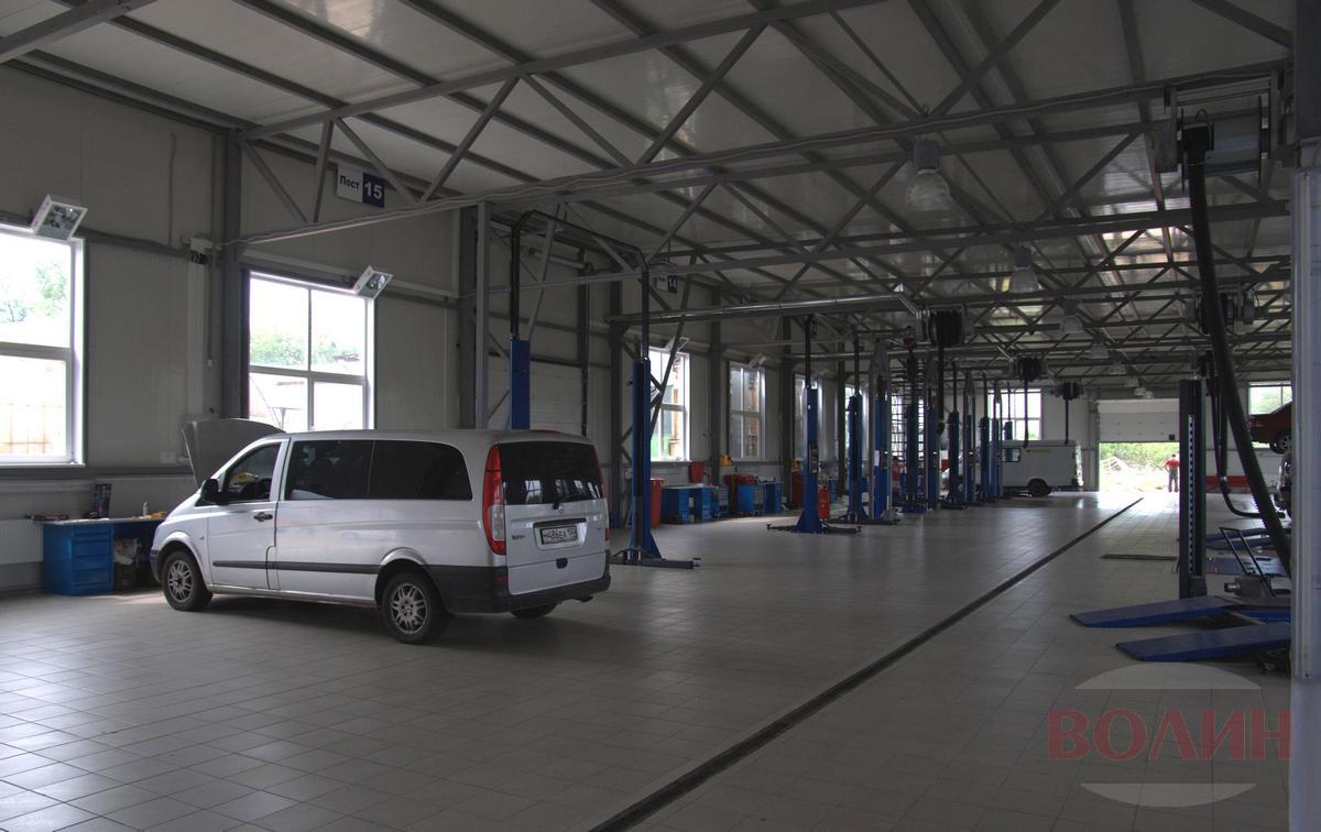 Изменяется порядок приёма автомобилей в Техническом Центре «ВОЛИН»