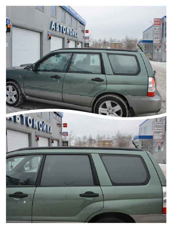 Тонирование стёкол автомобилей в Техническом Центре «ВОЛИН»