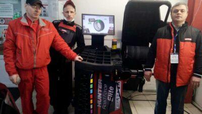 Виброконтроль Hanter Road Force® Elite – диагностический и балансировочный стенд нового поколения в ТЦ ВОЛИН