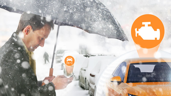 При снижении температурыдвигателя до заданной отметки происходит автоматический запуск двигателя. Вы можете выбрать температуру от −3°C до −27°C с шагом 3°C