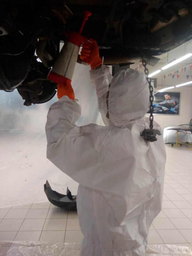 Антикоррозийная обработка кузова автомобилей в Техническом Центре «ВОЛИН»